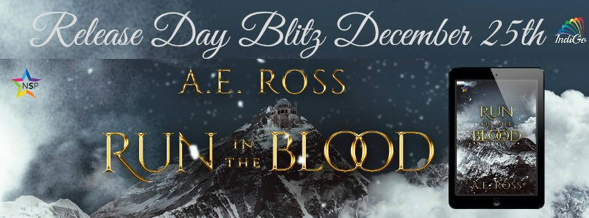 A.E. Ross - Run In The Blood Banner