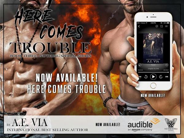 A.E. Via - Here Comes Trouble Audio Promo