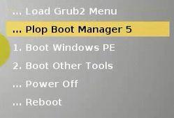 Các bạn vào mục Boot Other Tools