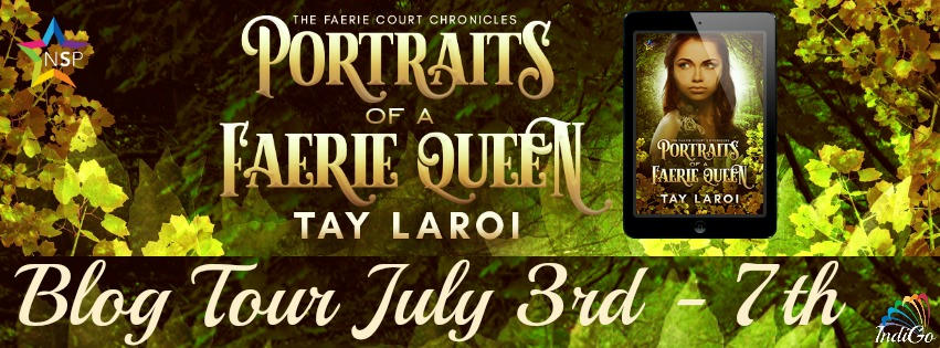 Tay Laroi - Portraits of a Faerie Queen Tour Banner