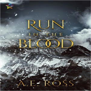 A.E. Ross - Run In The Blood Square