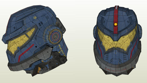Pacific Rim- Jaeger Build Pacific Rim Gipsy Danger Head