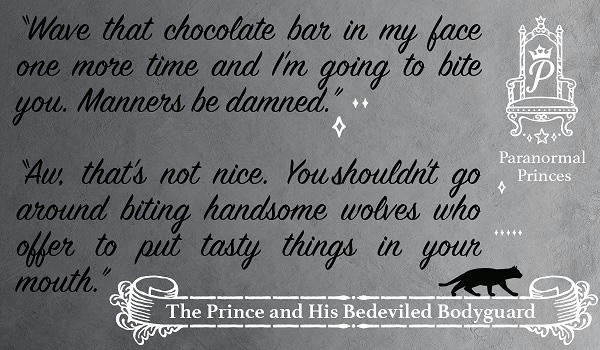 Charlie Cochet - The Prince and His Bedeviled Bodyguard Promo