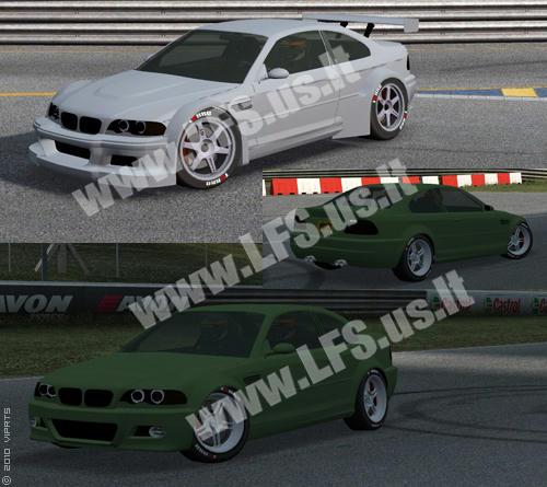 XR - BMW M3 CSL E46