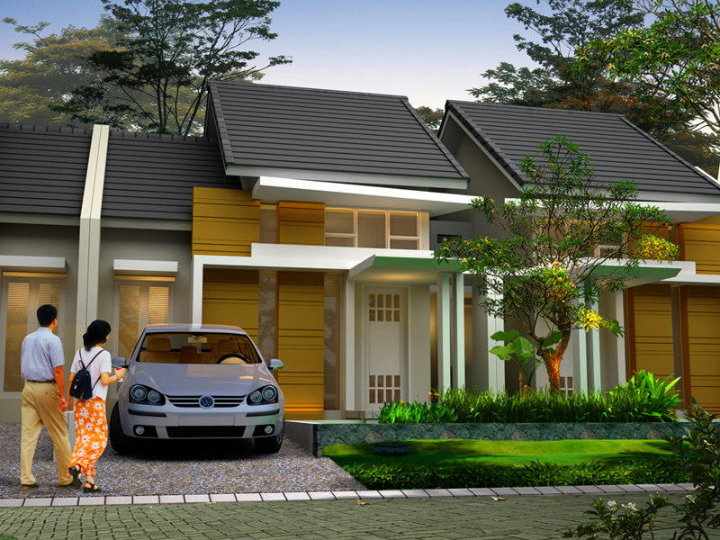 44+ Contoh Rumah Cluster Type 45 Pictures | SiPeti