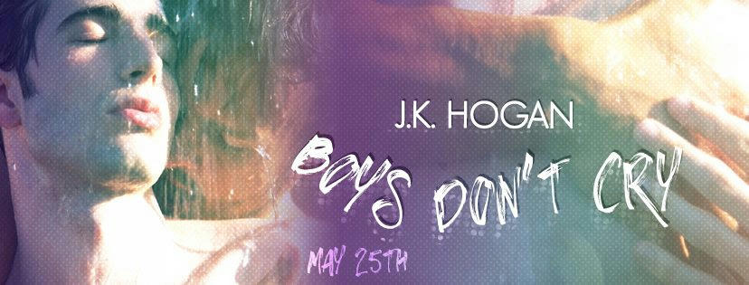J.K. Hogan - Boys Don't Cry Banner
