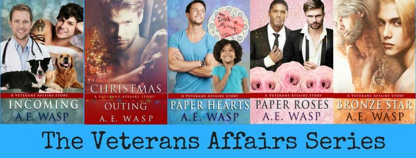 A.E. Wasp - The Veterans Affairs series Banner