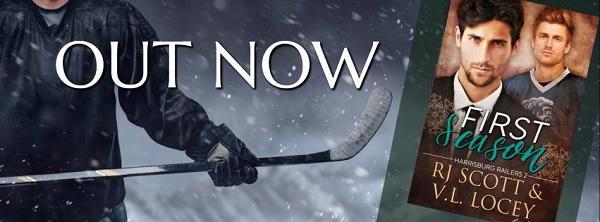 RJ Scott & VL Locey - First Season Release Banner