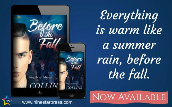 S.A. Collins - Before the Fall Now Available