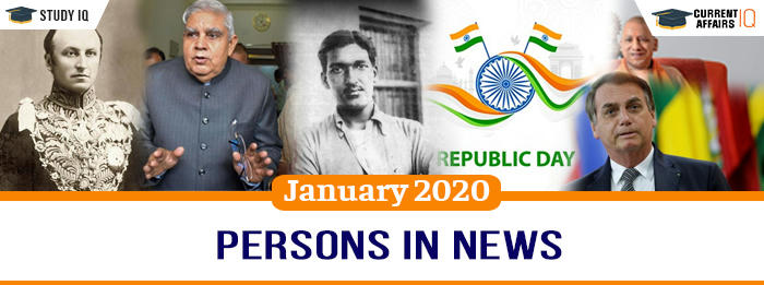 Persons in News