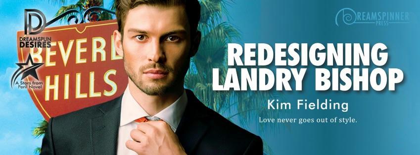 Kim Fielding - Redesigning Landry Bishop Banner