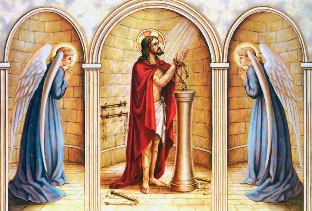 La Flagelación de Nuestro Señor Jesucristo. Varón de dolores. La Pasion del Señor Jesús