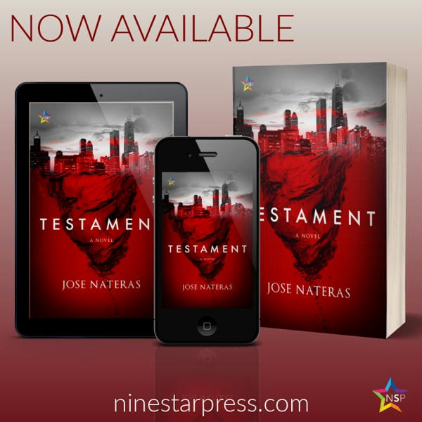 Jose Nateras - Testament Now Available