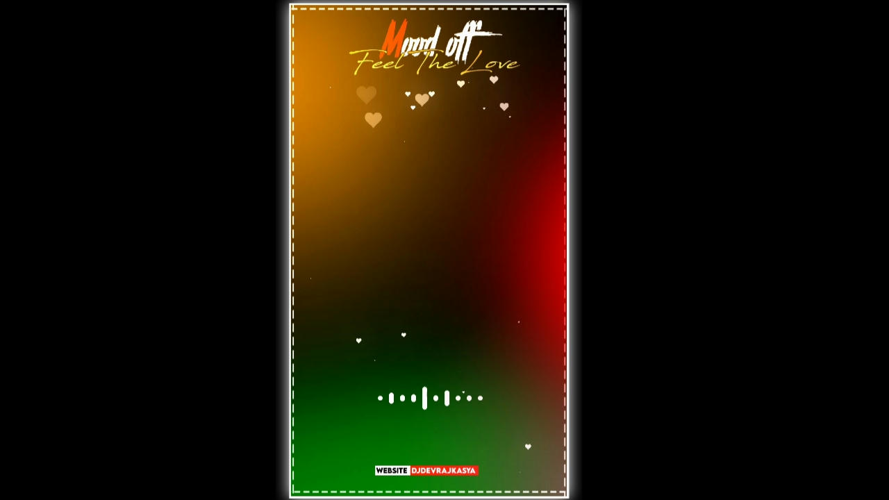 Mood Off Feel The Music Full Screen Avee Player Template Download Link New