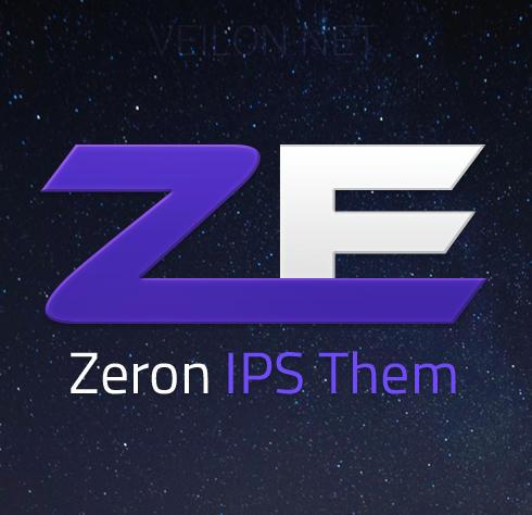 قالب Zeron - Amazing