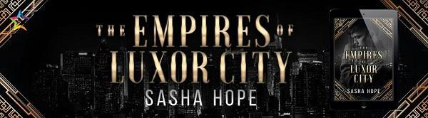 Sasha Hope - The Empires of Luxor City NineStar Banner