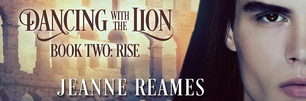 Jeanne Reames - Dancing with the Lion Rise Banner s