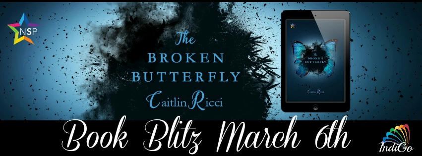 Caitlin Ricci - The Broken Butterfly RB Banner
