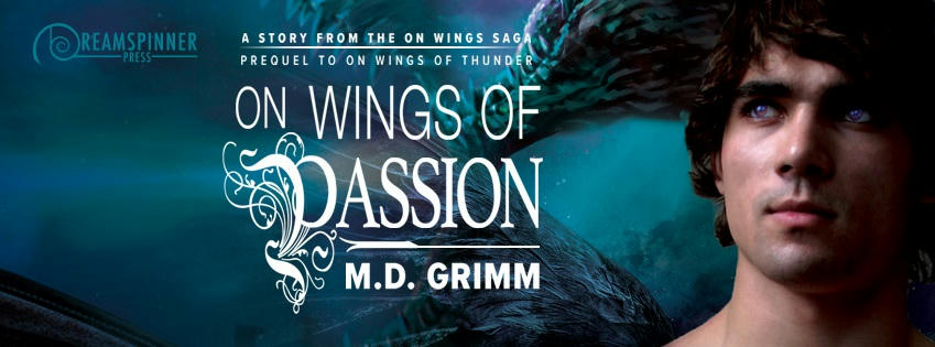 M.D. Grimm - On Wings Of Passion Banner