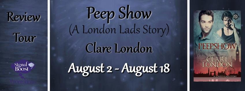 Clare London - Peep Show RTBanner