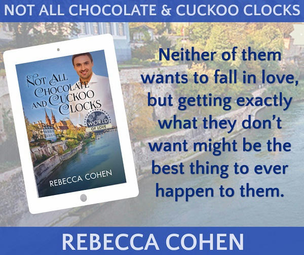 Rebecca Cohen - Not All Chocolates & Cuckoo Clocks Promo