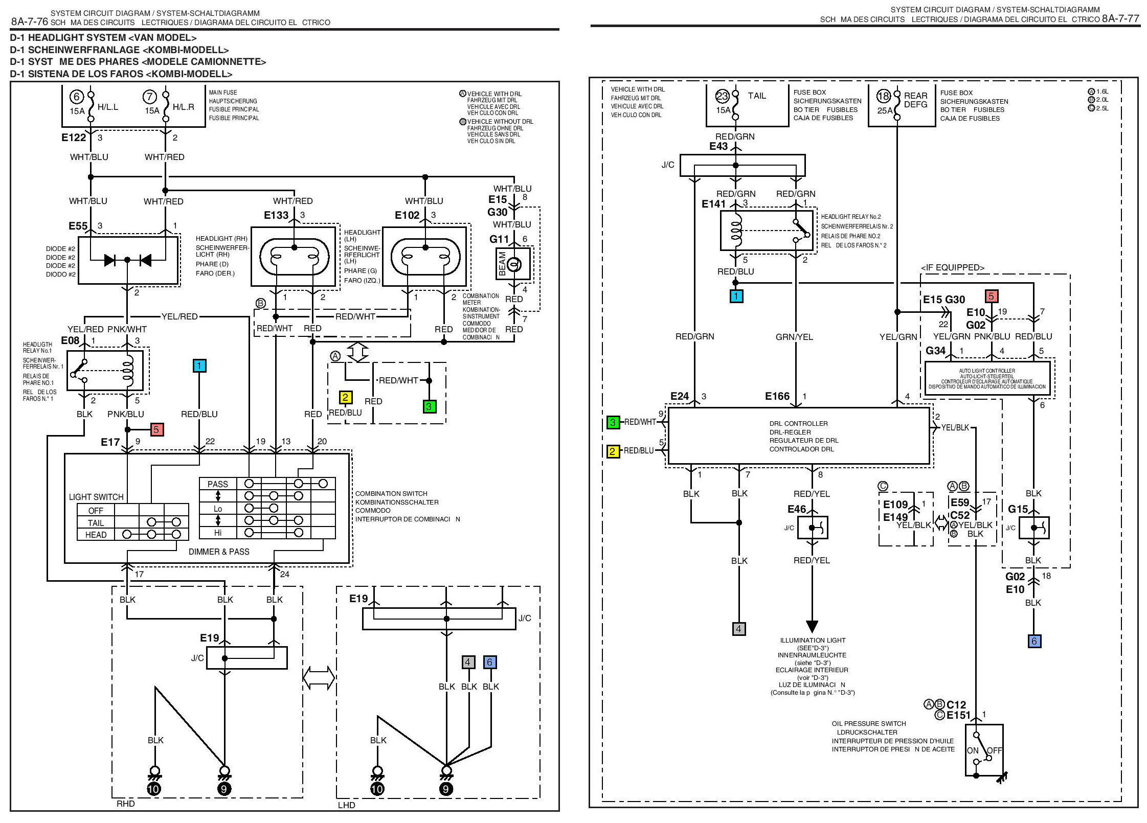 Tail Light Wiring Diagram For Samurai 2007 Suzuki Xl7 41 Images Sxzxu6roebgqcrdzg Drl Problem Forums Forum Site Ignition At
