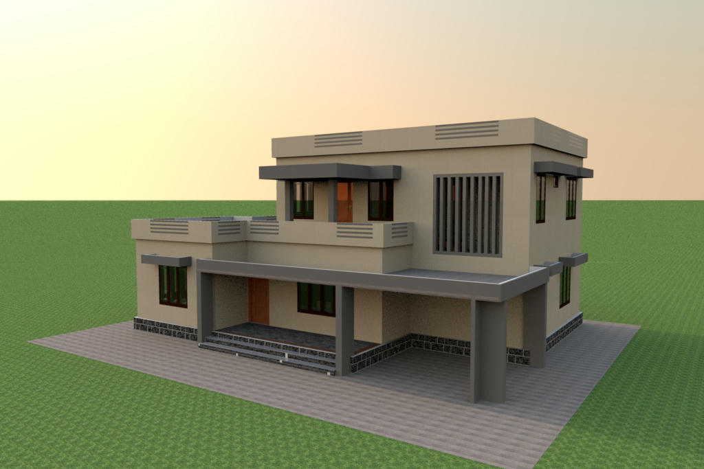 Sweet home 3d forum view thread 4 bed house 3d home