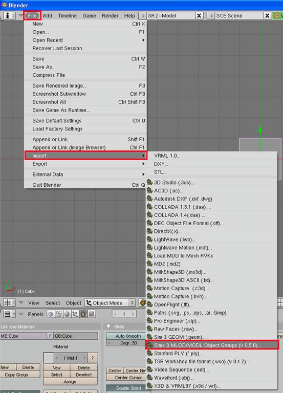 [Débutant] [Blender 2.4 à 2.49] Créer et intégrer son premier mesh de A à Z : 3-Téléchargement et installation des scripts d'import/export s3asc  Ov56gvr3nq0l9we6g