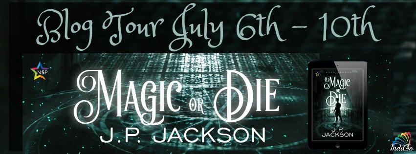J.P. Jackson - Magic or Die Tour Banner