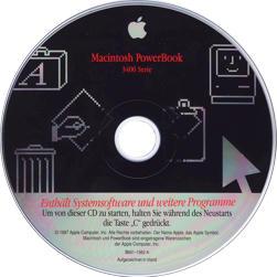 PowerBook 3400c german CD-ROM