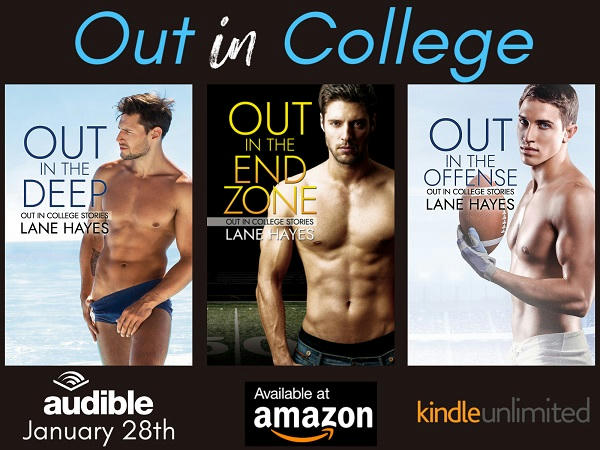 Lane Hayes - Out in College Series