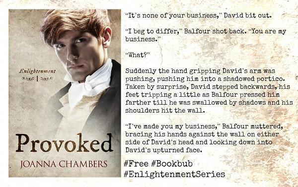 Joanna Chambers - Enlightenment Series Teaser s