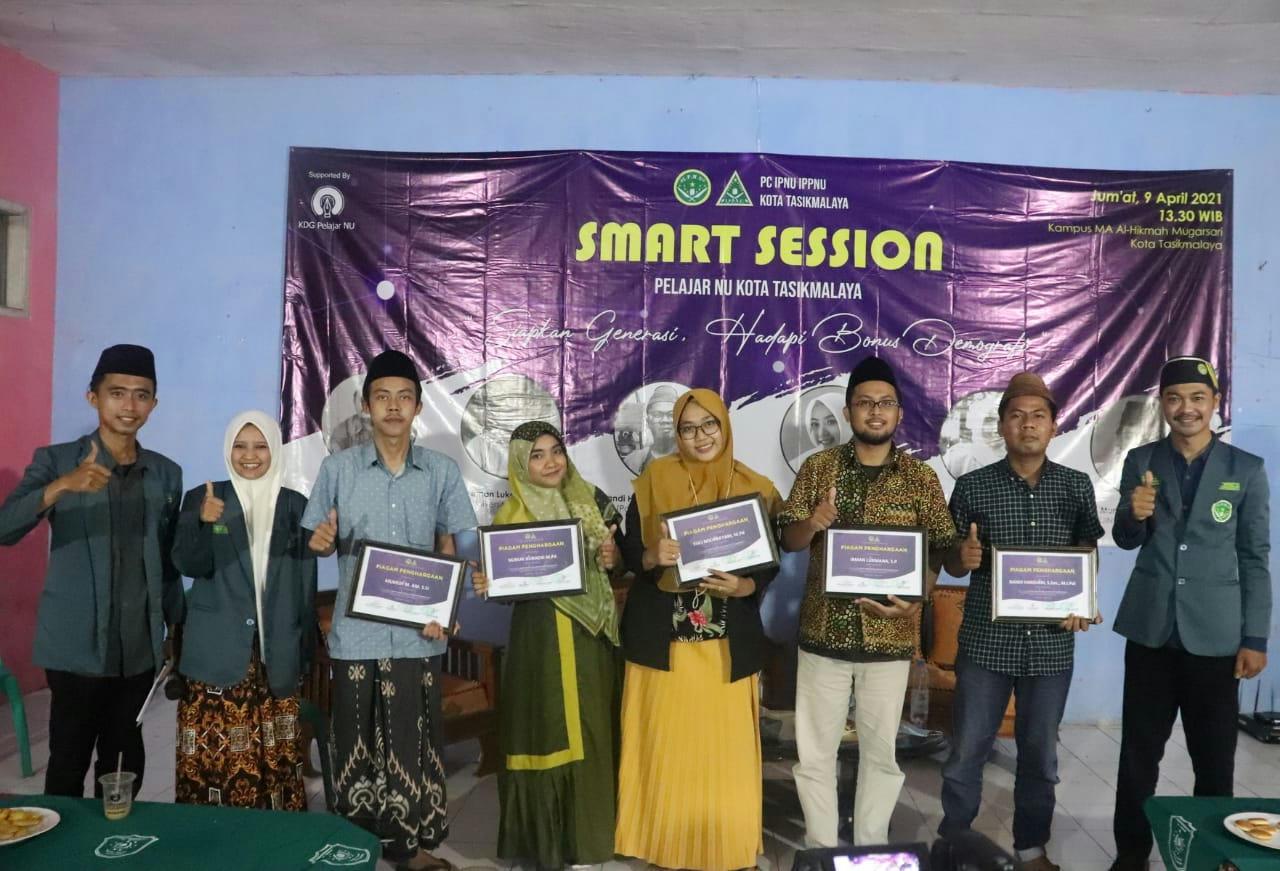 Menghadapi Bonus Demografi, IPNU dan IPPNU Kota Tasikmalaya gelar Smart Session