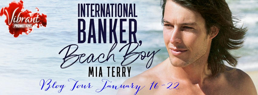 Mia Terry - International Banker, Beach Boy Tour Banner