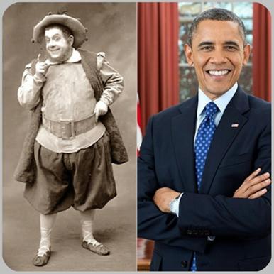 Sancho-Panza-y-Barack-Obama,-gobernantes-emeritos-de-la-Insula-Barataria