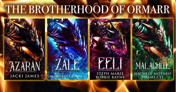 Jacki James - Brotherhood of Ormarr series Banner