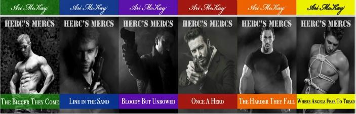 Ari McKay - Herc's Mercs Banner