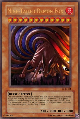 Naruto Archtype ! - Create a Card - YGOPRO Forums - Kaiba