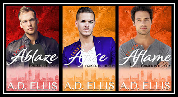 A.D. Ellis - Forged In The City Series Banner