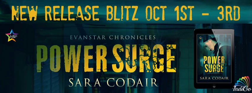 Sara Codair - Power Surge RB Banner