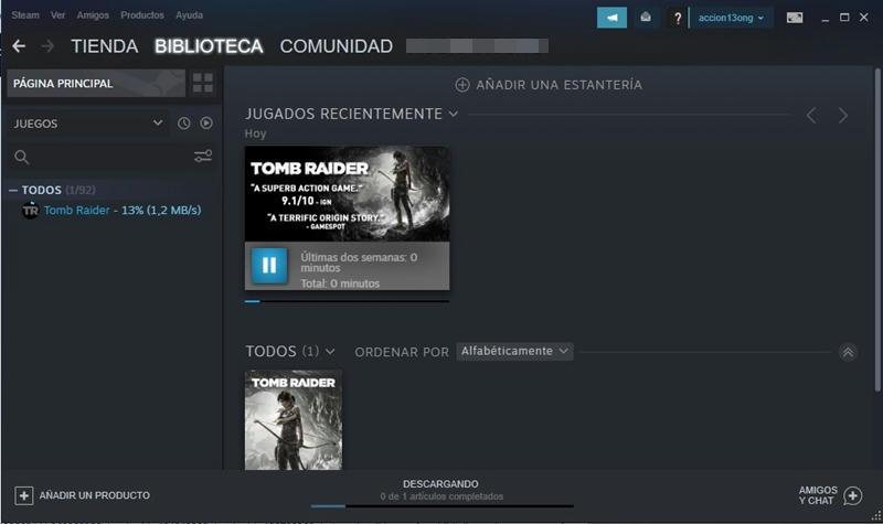 Steam libera gratis a Tomb Raider en cuarentena por coronavirus