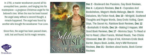 NR Walker - A Soldier's Wish Graphic