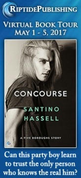 Santino Hassell - Concourse Badge
