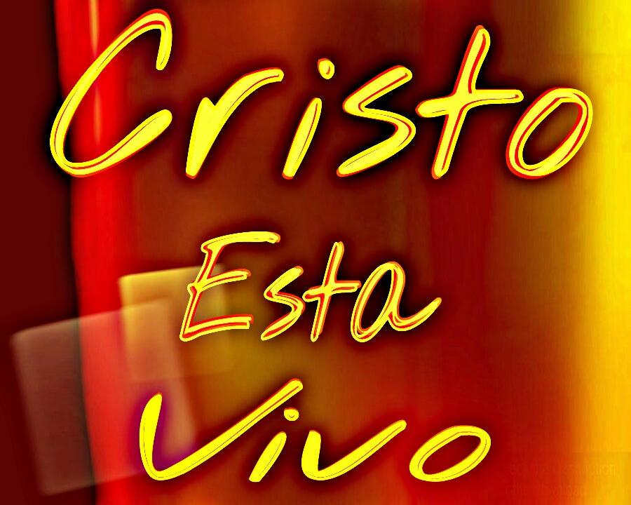 Cristo esta vivo – Tarjeta