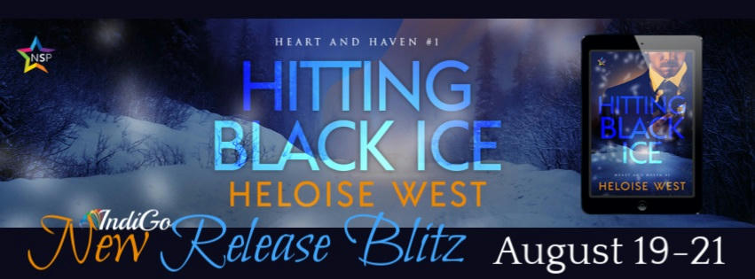 Heloise West - Hitting Black Ice RB Banner