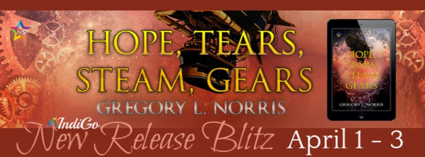 Gregory L. Norris - Hope, Tears, Steam, Gears BlastBanner