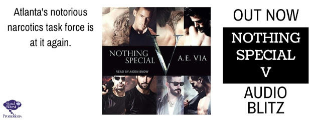 A.E. Via - Nothing Special V Audio Blast Banner