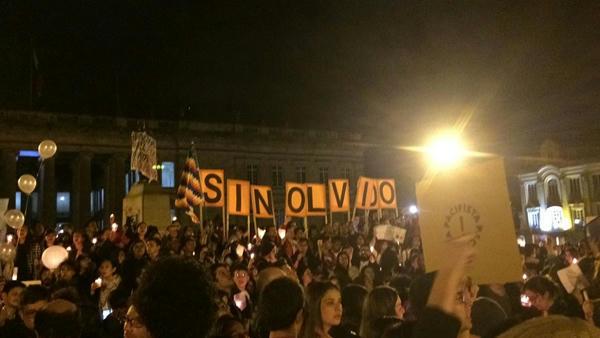 Con Velaton protestan en Colombia por maniobras de exterminio de líderes sociales