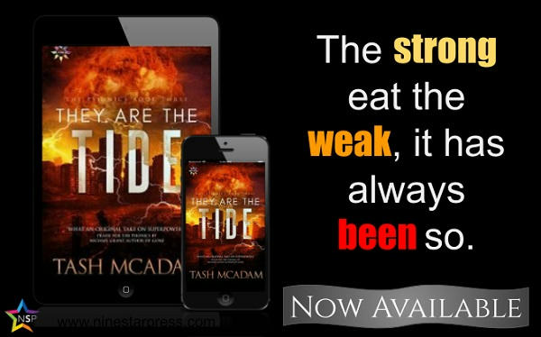Tash McAdam - They Are the Tide Now Available