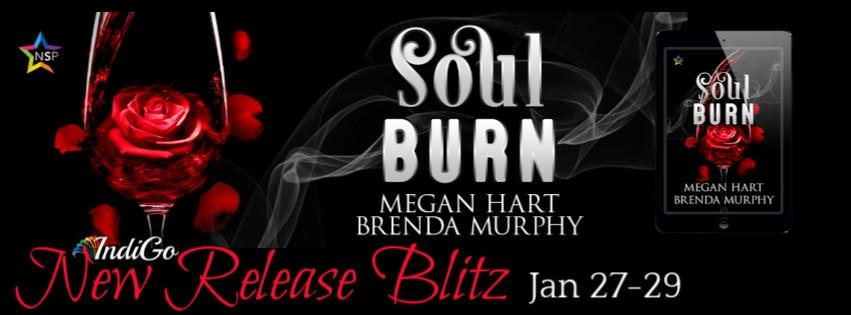 Brenda Murphy & Megan Hart - Soul Burn RB Banner